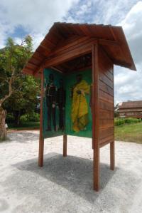 Iris Kensmil, 'Granmans Oso', 2013, in Marowijne Art Park, Moengo