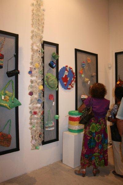 Artmarket 2012. The UNDP project, making art from garbage | PHOTO ©Marieke Visser, 2012