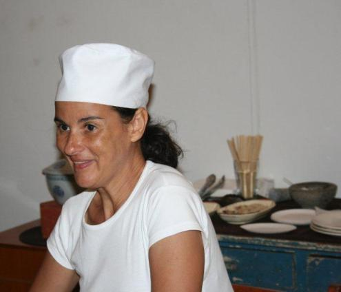 Artmarket 2012. Ellen Ligteringen from Tan Bun skrati  | PHOTO ©Marieke Visser, 2012