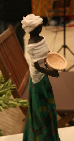 Artmarket 2012. Figurine by Kim Sontosoemarto | PHOTO ©Marieke Visser, 2012