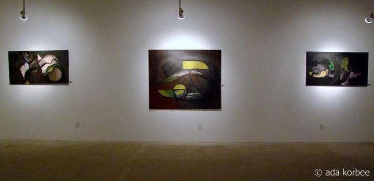schilderijen muur rechts