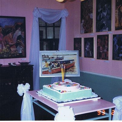 Twenty years ago, the opening of the Readytex Art Gallery on February 8, 1993 | PHOTO Courtesy Readytex Art Gallery, 1993