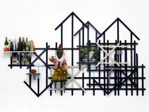 Remy Jungerman, 'Bakru', mixed media, 300x220x38, 2007 | Courtesy C & H Art Space