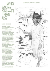 Poster for the exhibition with a work by Charl Landvreugd on it, Charl Landvreugd, 'Movt. nr. 5: La virginité de l'Europe', sculpture, year unknown | Courtesy Charl Landvreugd