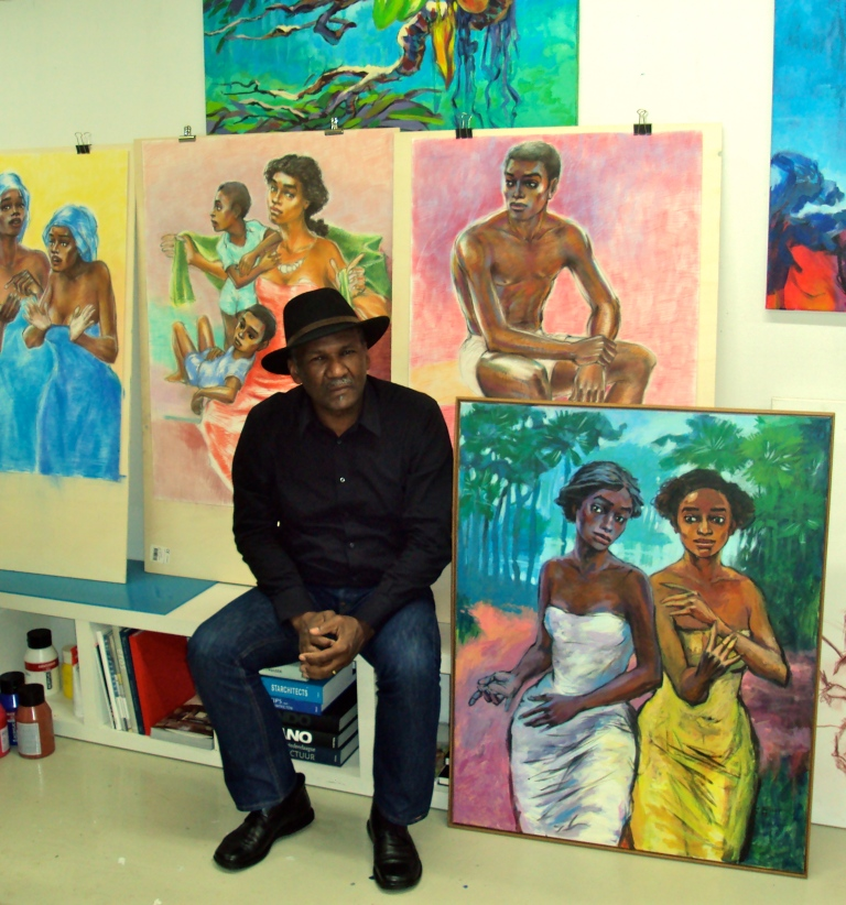 WIlgo Elshot in his studio | PHOTO Priscilla Tosari, 2012