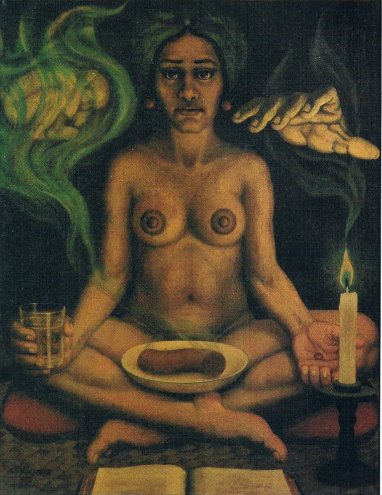 'De pil' [The pill], oil on canvas, 88x69cm, State Collection