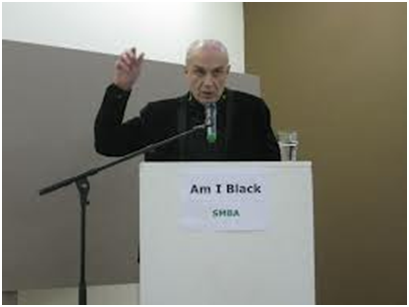 Lecturer Rob Perrée | PHOTO Courtesy Am I Black, 2013