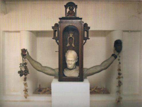 Felix de Rooy (1952), 'Markanan di Alma', mixed media, 1998 | PHOTO 'Curaçao Classics': René Emil Bergsma/Sinaya Wolfert