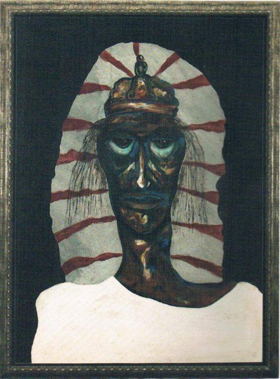 Charles Corsten (1927-1994), 'Madona Pretu', oil on hardboard, 1950 | PHOTO 'Curaçao Classics': René Emil Bergsma/Sinaya Wolfert