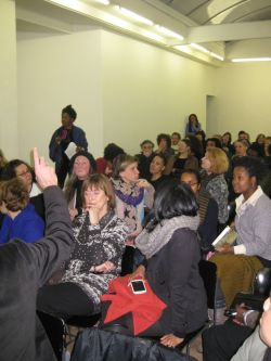An interested audience | PHOTO Courtesy Am I Black, 2013