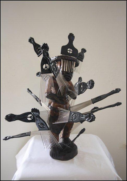 Tirzo Martha, 'The Afro-Healing', 2012 | PHOTO Courtesy artists 'Gedeelde Erfenis'