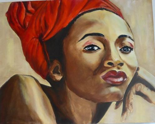BLACK LADY I