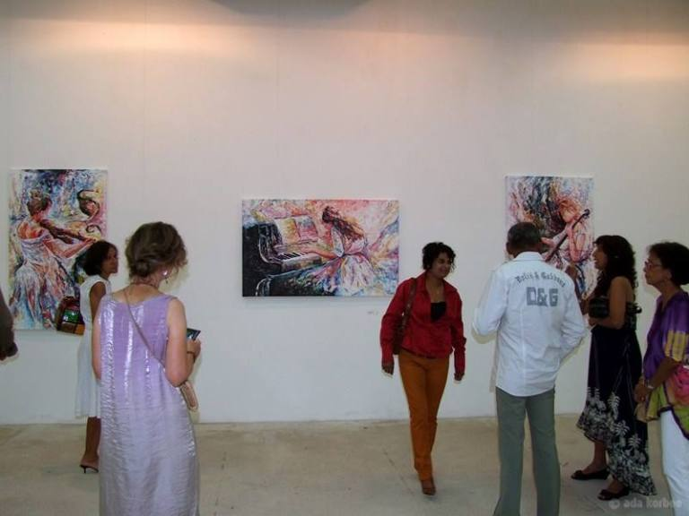 Exhibition 'Celebration of Anand Dwarka' | PHOTO Ada Korbee, 2013