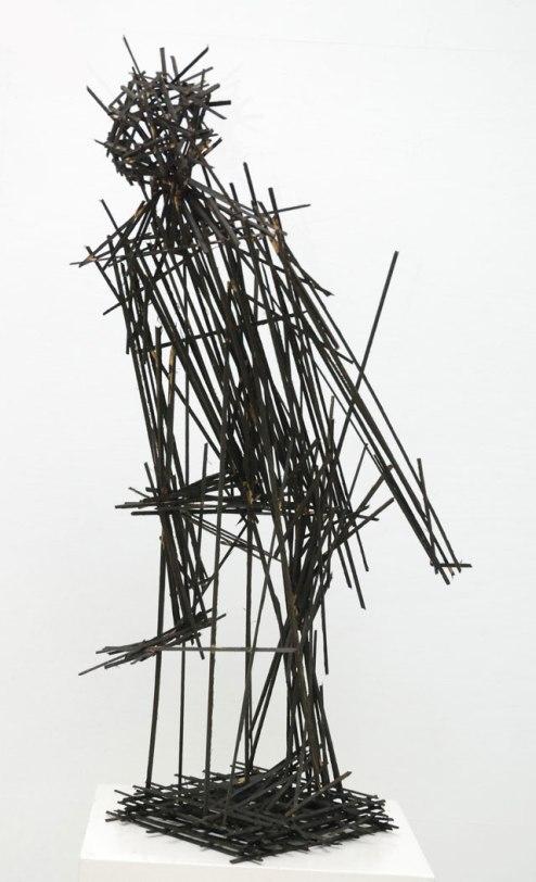 Dhiradj Ramsamoedj, untitled, hardwood, 60x105x31cm, 2013 - USD 400 / PHOTO Readytex Art Gallery/William Tsang