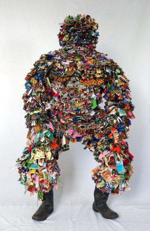 Dhiradj Ramsamoedj, 'Mighty Man' / PHOTO Readytex Art Gallery/William Tsang, 2010