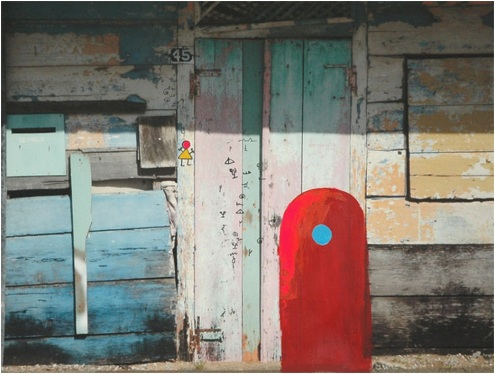 Marcel Pinas, '', / PHOTO Readytex Art Gallery/William Tsang