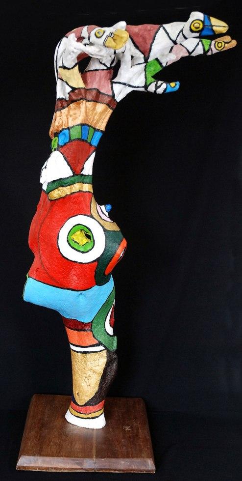 Roddney Tjon Poen Gie, 'Guards', acrylic on wood, 90wx170hx60d, 2009 - USD 1200 / PHOTO Readytex Art Gallery/William Tsang