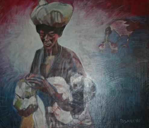 René Tosari, 'Hongersnood' [Famine] / PHOTO Marieke Visser