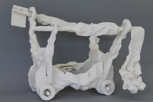 Yasser Ballemans, 'Carrus Navalis no. 11', porcelain, 46x30x33cm, 2012 / PHOTO Courtesy artist