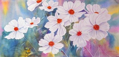 A. Murugesan, 'Cosmos white' / PHOTO Courtesy A. Murugesan