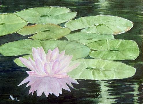 A. Murugesan, 'Lotus II' / PHOTO Courtesy A. Murugesan