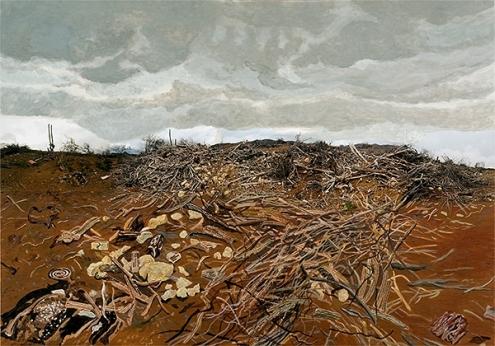 Lydia Schouten, 'Plantage Wechi', mixed media, 100x140cm, 2010 / PHOTO Courtesy artist