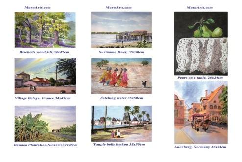 A. Murugesan Catalogue back / IMAGE Courtesy A. Murugesan