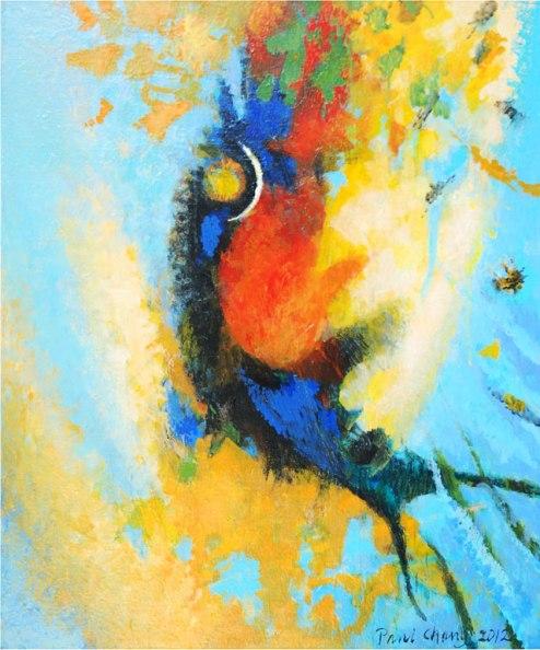 Paul Chang, 'Fish', acrylic on canvas, 76x90cm, 2013 - USD 900 / PHOTO Readytex Art Gallery/William Tsang