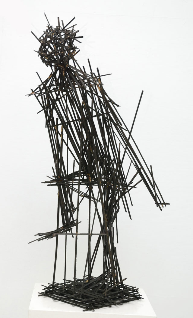 Dhiradj Ramsamoedj, untitled, wood object, 60x105x31cm, 2013 - USD 400 / PHOTO Readytex Art Gallery/William Tsang