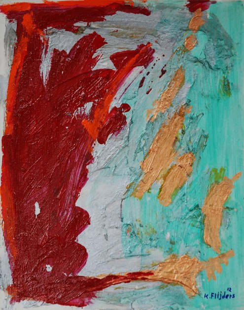 Kenneth Flijders, 'Untitled 5', mixed media on paper, 27.5 cm wide x 34.5 cm high, 2012 - USD 200 / PHOTO Readytex Art Gallery/William Tsang