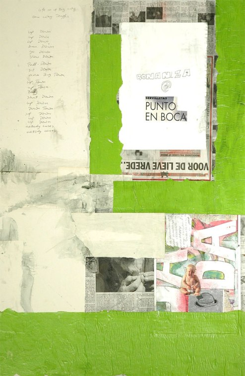 Kurt Nahar, 'Peaceful Visions I', mixed media  on hardboard, 60x90cm, 2008  - USD 600 / PHOTO Readytex Art Gallery/William Tsang