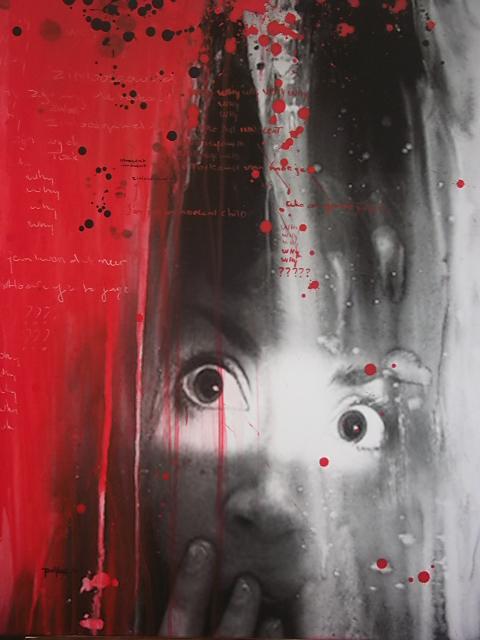 Sunil Puljhun, 'Fear', digitally enhanced photo on canvas, 80x150 cm, 2014, created in the context of Glo' Art / Photo Courtesy Sunil Puljhun