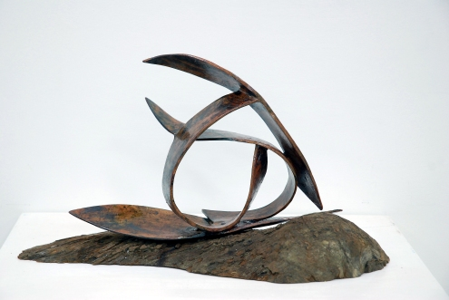 Hanka Wolterstorff, 'De golfslag van Coronie' [The waves of Coronie], ceramics, 60 cm wide x 38 cm high x 32 cm deep, 2011 - USD 300 / PHOTO Readytex Art Gallery/William Tsang