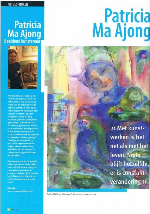 EFM Magazine vol. 4, no. 11, March 2015, Uitgesproken [Outspoken]