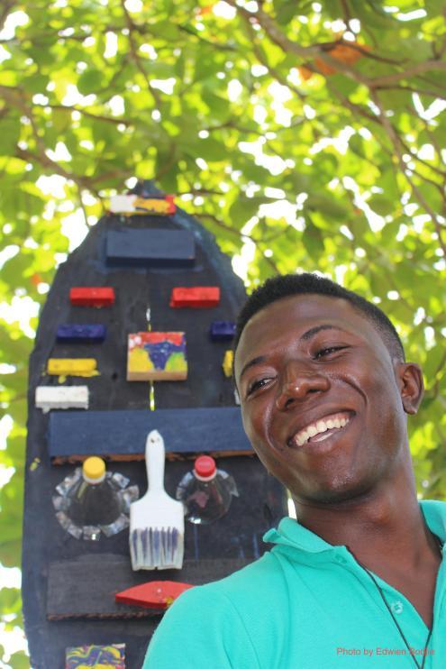 Isan Corinde, portrait by Edwien Bodjie / PHOTO Edwien Bodjie