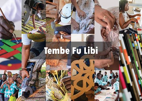 Photo collage Moengo Festival of Visual Arts 2015 Tembe fu libi, by Ravi Rajcoomar