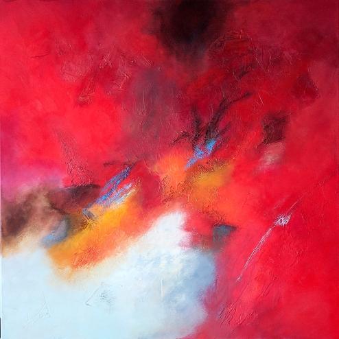 vivus-volare-2-90x90-mixed-media-on-canvas-2015