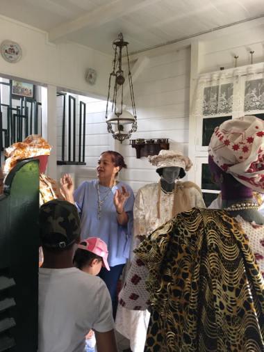 Christine van Russel at Het Koto Museum